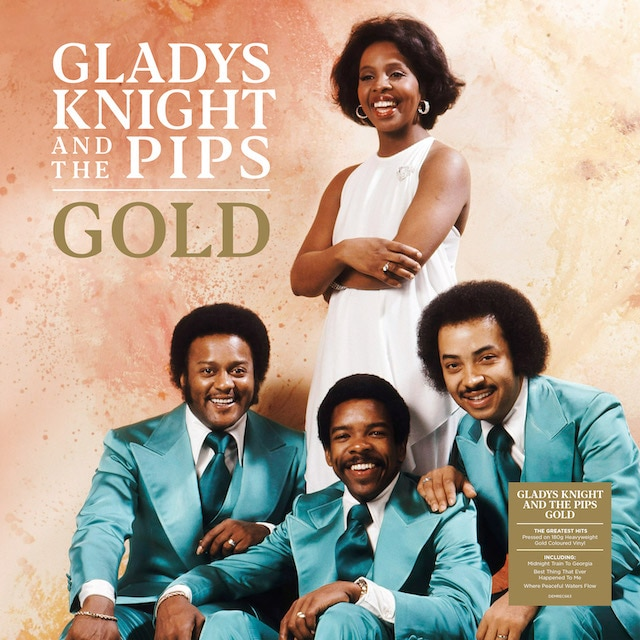Gladys Knight And The Pips – Gold (Gold Coloured Vinyl)
