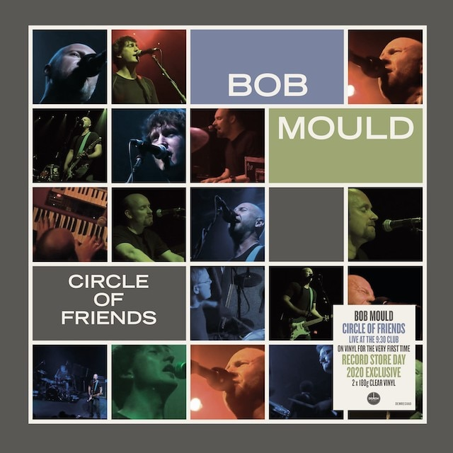 Bob Mould – Circle Of Friends (RSD20: Clear Vinyl)