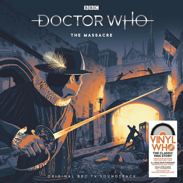 Doctor Who – The Massacre (RSD20: Parisian Blaze Vinyl)