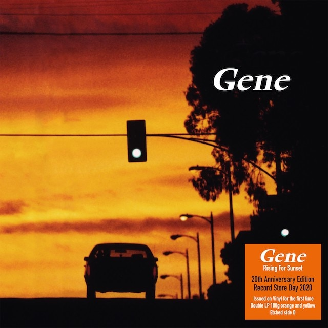 Gene – Rising For Sunset (RSD20: Yellow & Orange Vinyl)