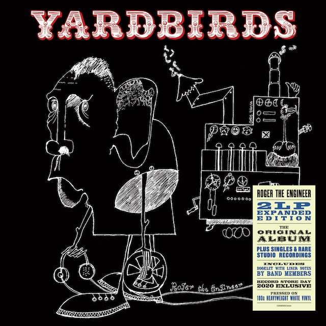 The Yardbirds – Roger The Engineer (RSD20 Expanded Edition: White Vinyl)