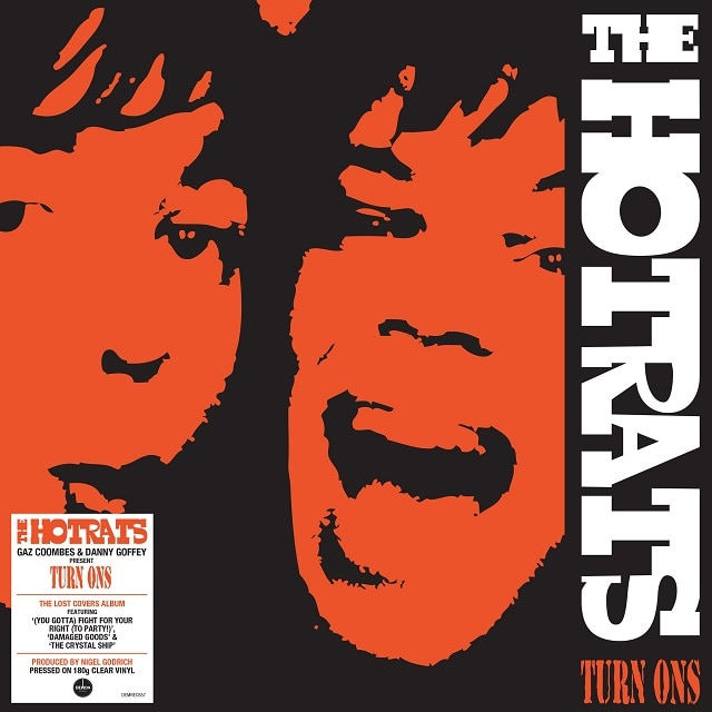 The Hotrats – Turn Ons (180g Clear Vinyl)