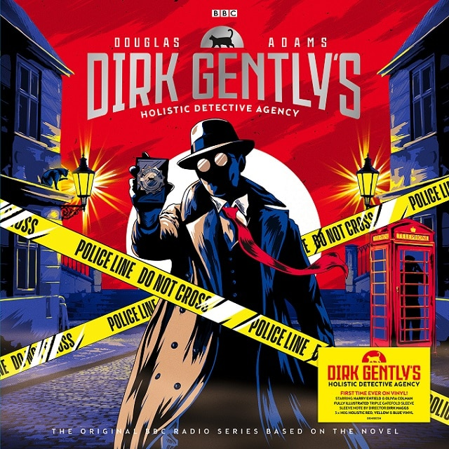 Dirk Gently's Holistic Detective Agency (Red, Yellow and Blue Vinyl)