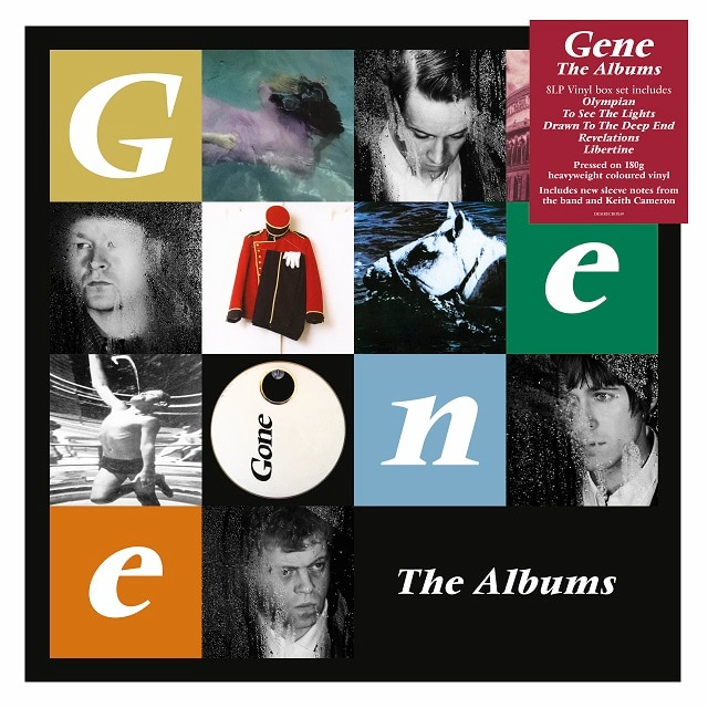 Gene: The Albums SIGNED EDITION (Coloured Vinyl)