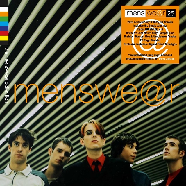 The Menswear Collection (4CD Limited Signed Edition)