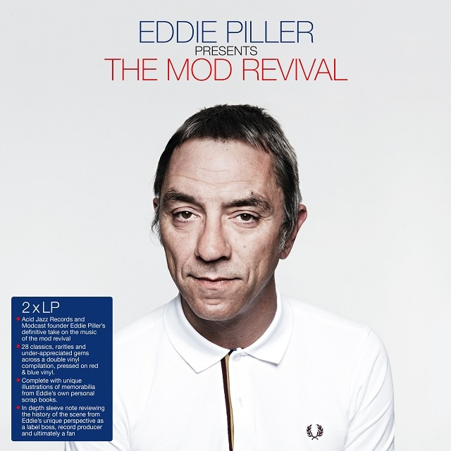 Eddie Piller Presents The Mod Revival (Blue and Red Vinyl)