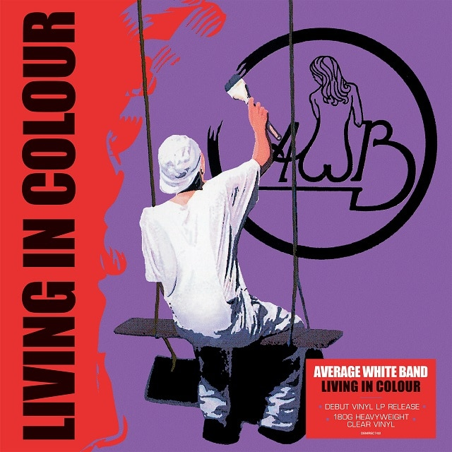Living In Colour  (Clear Vinyl)