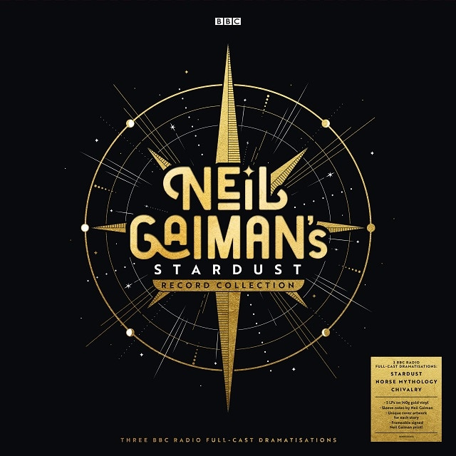 Neil Gaiman's Stardust Record Collection (Signed Limited Edition, Gold Coloured Vinyl)