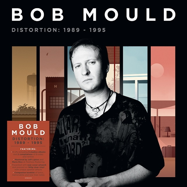 Bob Mould – Distortion: 1989-1995 (Clear Splatter Vinyl)