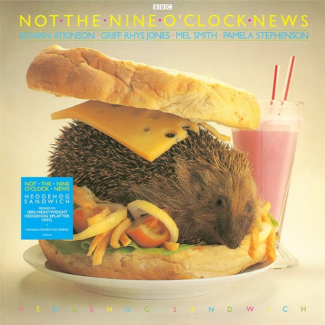 Not The Nine O' Clock News – Hedgehog Sandwich (180g 'Hedgehog Splatter' Vinyl)