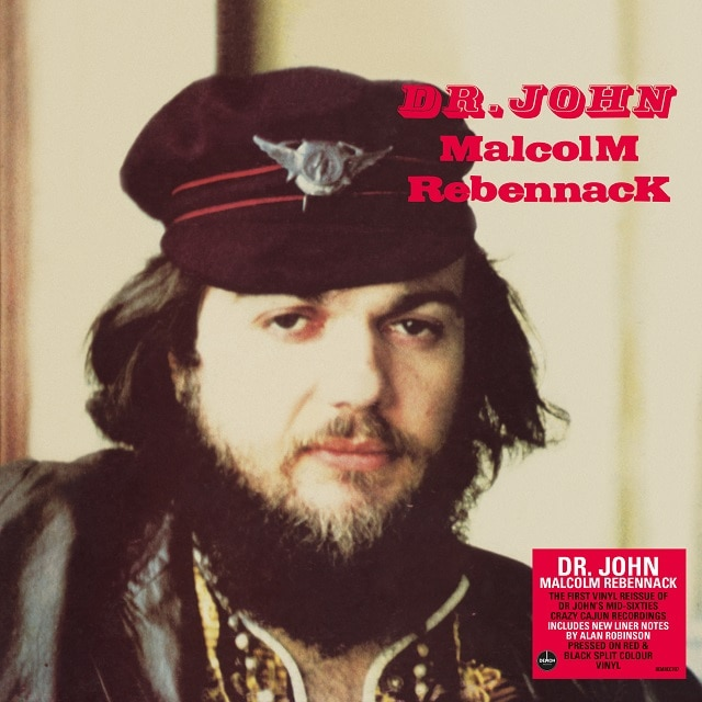 MalcolM RebennacK (140g Red & Black Split Colour Vinyl)