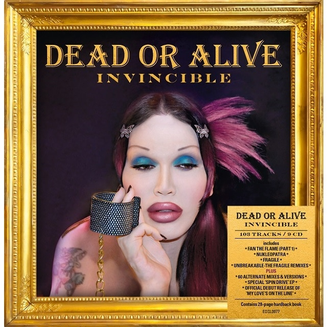 Dead Or Alive: Invincible (9CD Box Set)