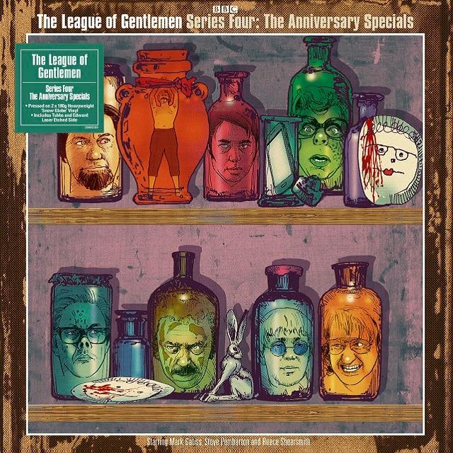 The League Of Gentlemen: Series 4 ('Snowglobe' Clear Vinyl)