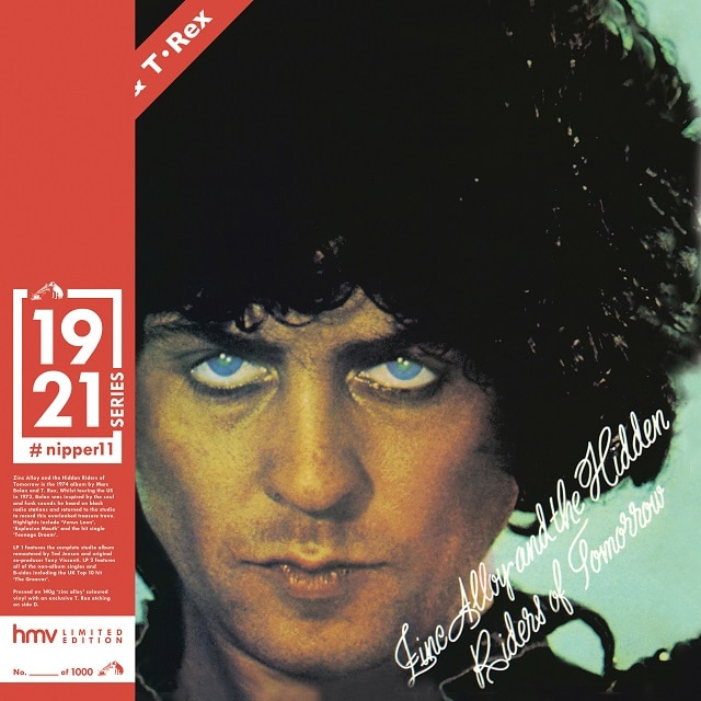 T.Rex: Zinc Alloy and the Hidden Riders of Tomorrow: (hmv Exclusive) 1921 Series 'Zinc Alloy' Vinyl