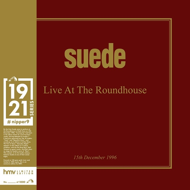 Suede: Live at the Roundhouse (hmv Exclusive) 1921 Series Gold Vinyl