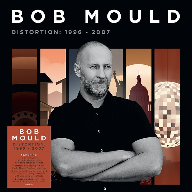 Bob Mould – Distortion: 1996-2007 (9LP 140g Clear Splatter Vinyl)