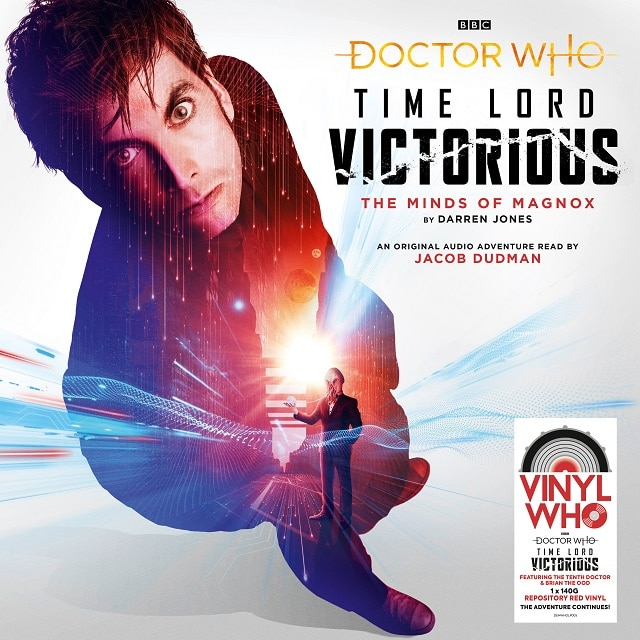 Doctor Who: The Minds Of Magnox – Time Lord Victorious (140g Repository Ripple Vinyl)