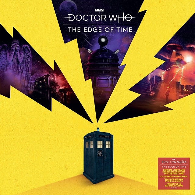 Doctor Who: The Edge Of Time Original Videogame Soundtrack (140g Red and Purple Vinyl)
