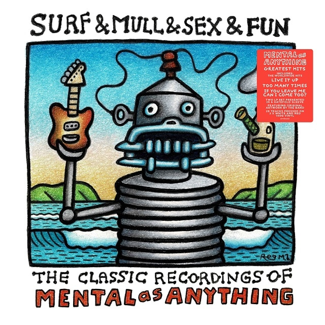 Surf & Mull & Sex & Fun (140g Red & White Vinyl)