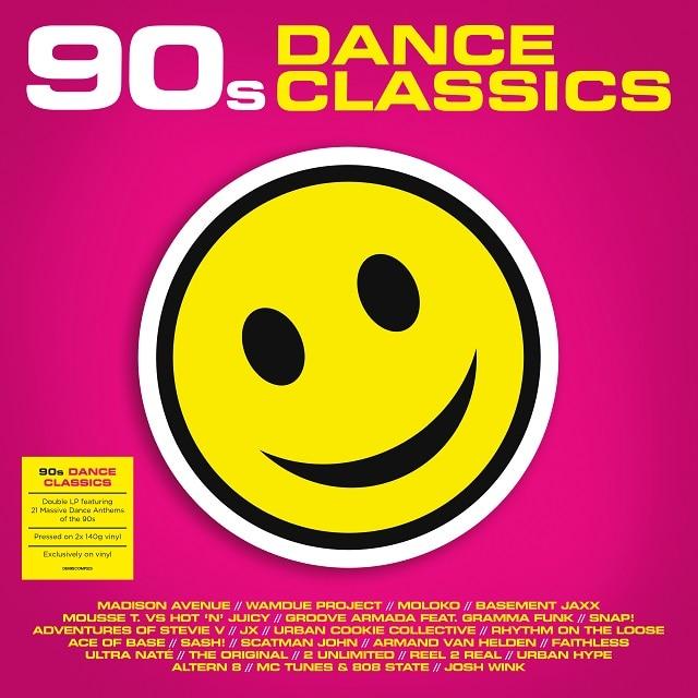 90s Dance Classics (2 x 140g Vinyl)
