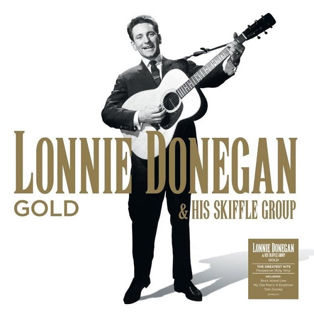 Lonnie Donegan & His Skiffle Group – Gold (140g Black Vinyl)