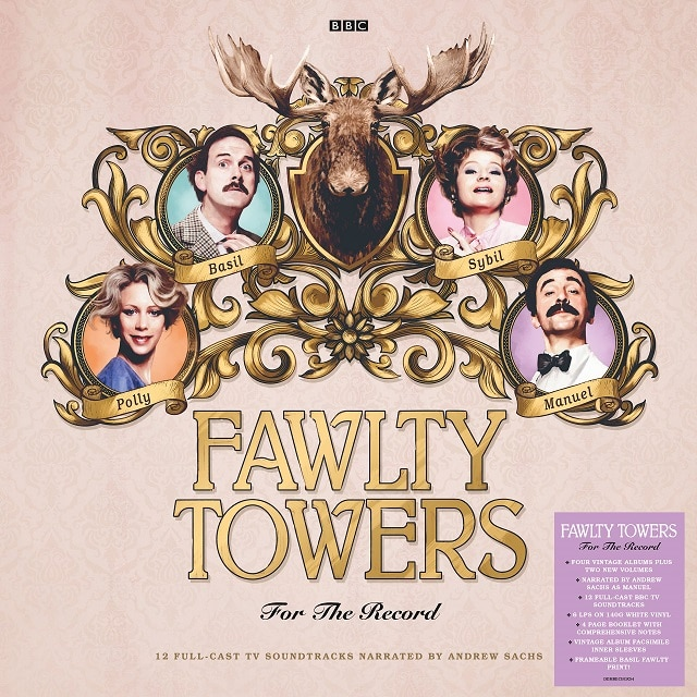 Fawlty Towers: For The Record – (140g White Vinyl Edition Signed By John Cleese)