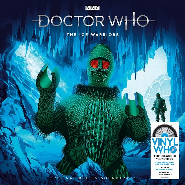 Doctor Who – The Ice Warriors (140g 'Molten Ice' Vinyl)