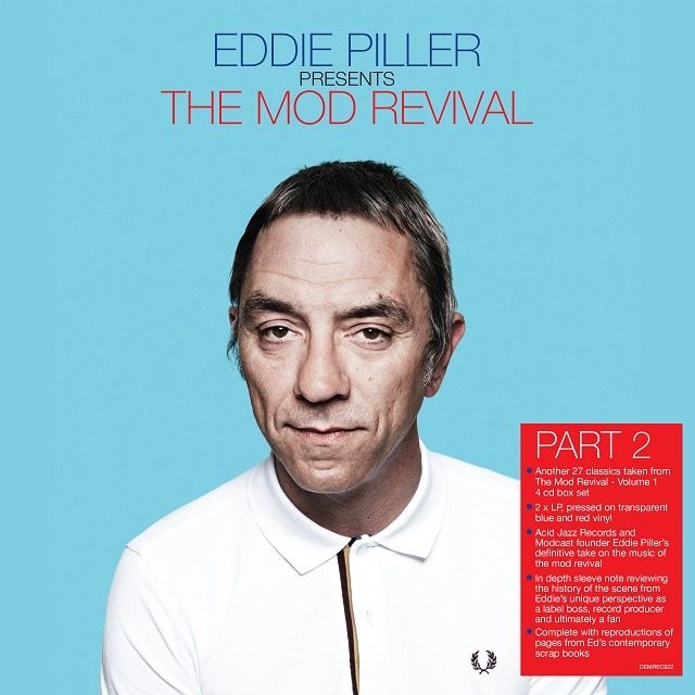 Eddie Piller Presents The Mod Revival Part 2 (180g Translucent Blue and Red Vinyl)