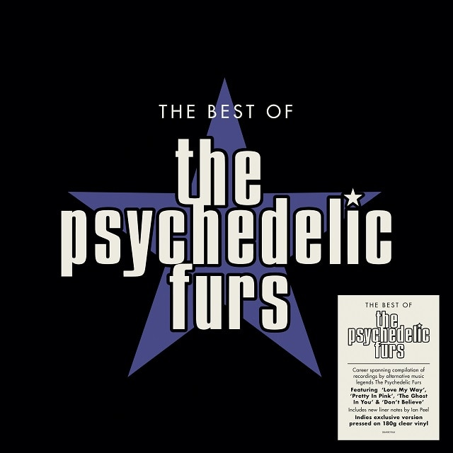 The Psychedelic Furs: The Best Of (Indies 180g Clear Vinyl)