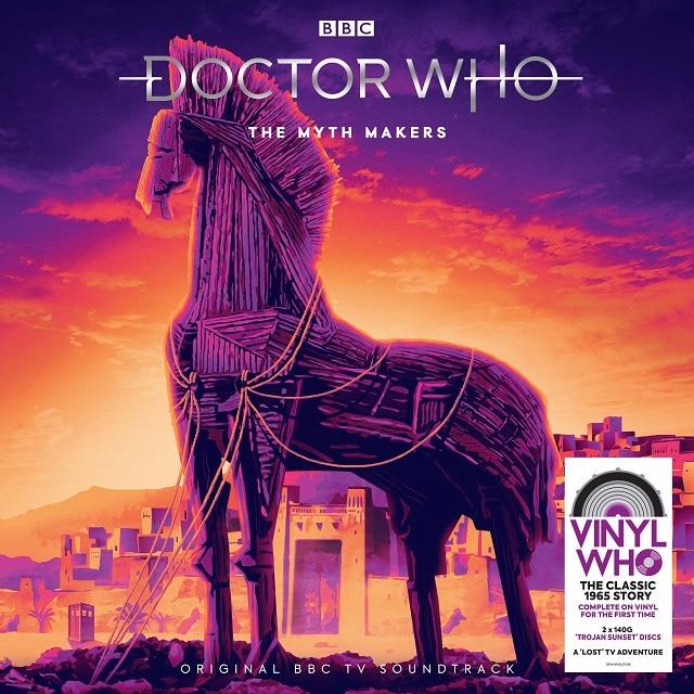 Doctor Who – The Myth Makers (140g Trojan Sunset Splatter Vinyl)