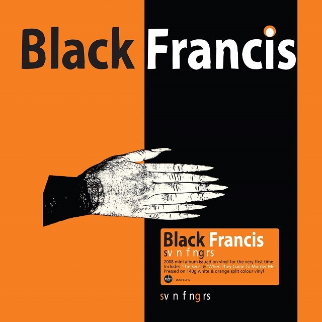 Svn Fngrs  (140g White & Orange Split Vinyl)