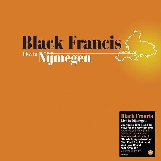 Black Francis: Live In Nijmegen (140g Clear Vinyl 2LP)
