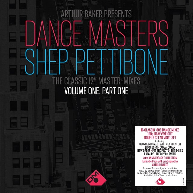 Arthur Baker Presents Dance Masters – The Shep Pettibone Master-Mixes – Vol One Part One (180g Clear Vinyl) Rough Trade Signed Exclusive