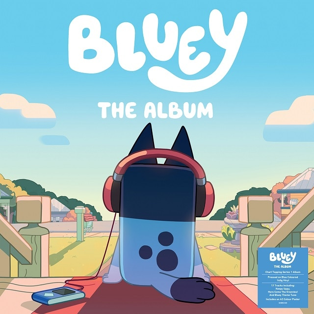 Bluey The Album (140g Blue Vinyl)