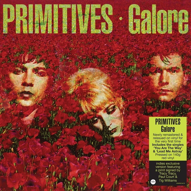 Galore (140g Red Vinyl – Indies Signed Exclusive)